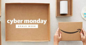 Featured image for Amazon Cyber Monday Deals Week: Featured Hot Deals & Offers from 26 Nov – 2 Dec 2017