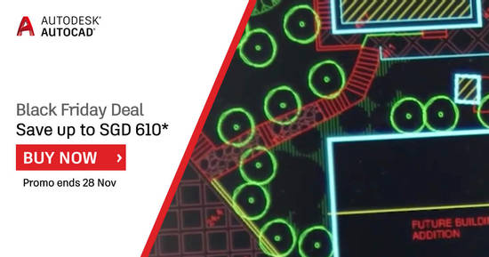 AutoCAD Black Friday 13 Nov 2017