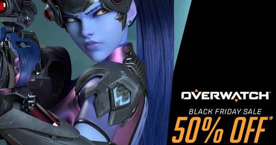 blizzard s overwatch 50 off black friday sale ends 27 nov 2017