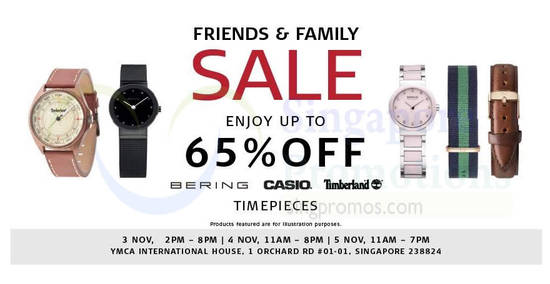 Branded timepieces feat 1 Nov 2017