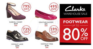 b4aafb6e5 Clarks up to 80% OFF warehouse sale at Suntec! From 9 – 10 Dec 2017