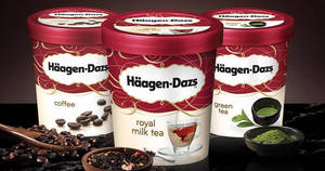 Cold Storage: Haagen-Dazs tubs are going at 2-for-$19.90 (U.P. $29)! Ends 20 Dec 2018