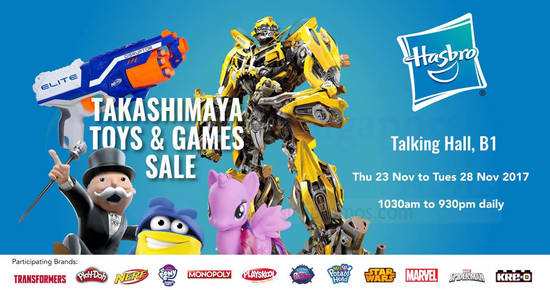 Hasbro feat 20 Nov 2017