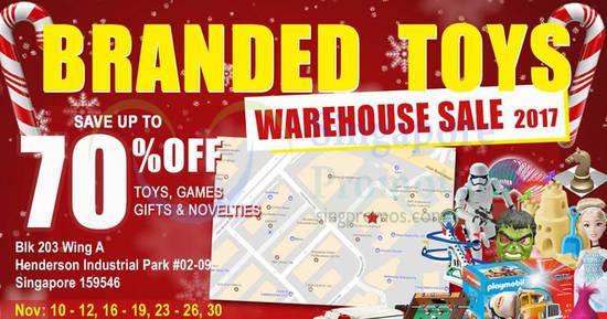 Henderson Toys warehouse feat 9 Nov 2017
