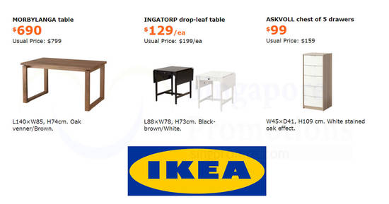IKEA feat 6 Nov 2017