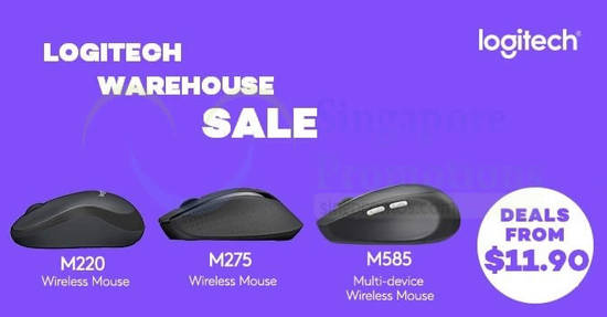 Logitech warehouse sale feat 25 Nov 2017