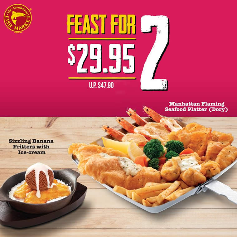Manhattan Fish Market Releases New E Coupon Deals Valid