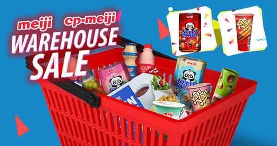 Meiji warehouse sale feat 10 Nov 2017