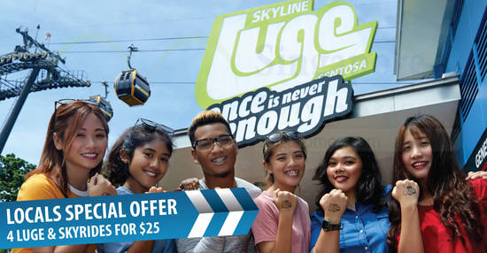Skyline Luge Sentosa feat 20 Nov 2017
