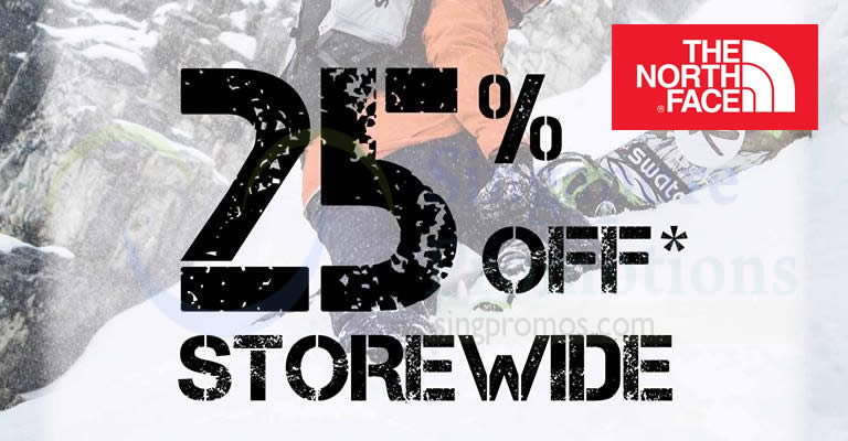 d33cefe7d The North Face: 25% OFF storewide for all reg-priced items Black ...
