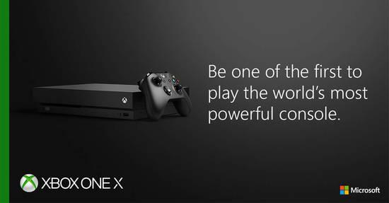 Xbox One X 8 Nov 2017