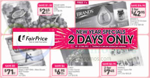 Featured image for Fairprice two-days offers – LINDT Lindor Cornet, Brand's & more! From 30 – 31 Dec 2017
