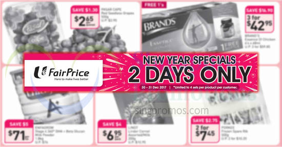Fairprice feat 30 Dec 2017