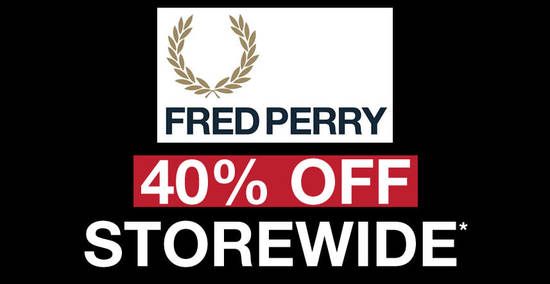 Fred Perry feat 20 Dec 2017