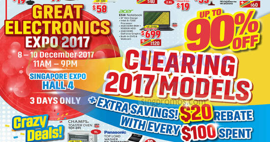 Great Electronics Expo 1 Dec 2017