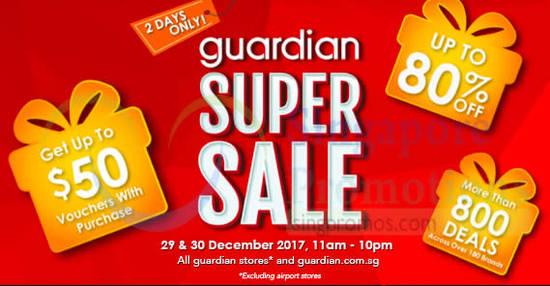 Guardian Super Sale feat 29 Dec 2017