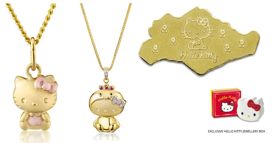 Poh heng jewellery sanrio hello kitty my melody for Heng kunthea jewelry shop