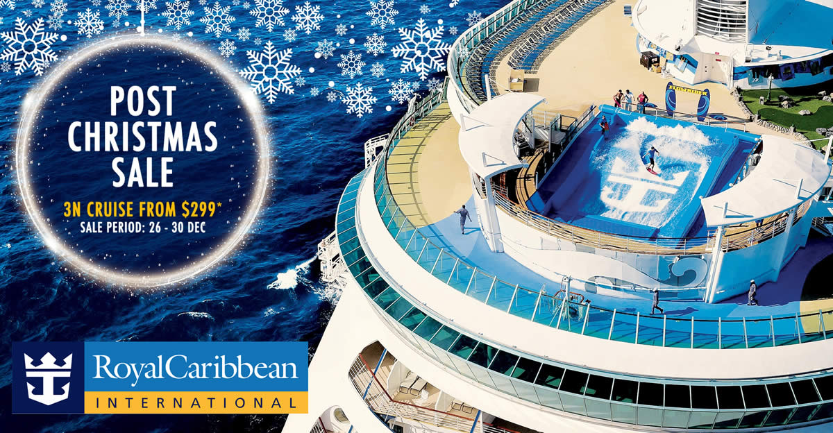 Royal caribbean 50 off 3 night weekend cruise post for Christmas decs sale