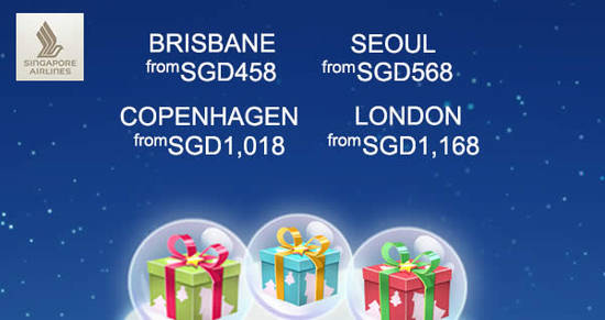 Singapore Airlines feat 12 Dec 2017