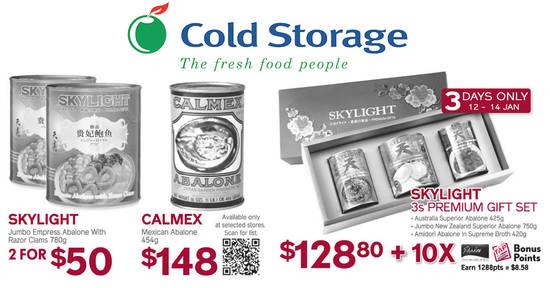 Cold Storage feat 12 Jan 2018