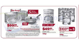 FairPrice Warehouse Club: Skylight & Golden Chef abalone offers! From 17 Jan – 6 Feb 2018