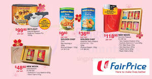 Fairprice: New Moon & Golden Chef abalone offers valid from 18 – 24 Jan 2018