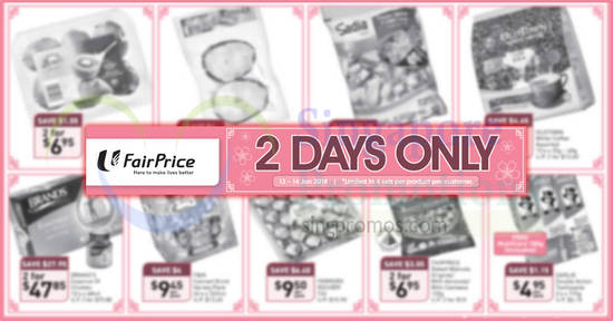 Fairprice twodays offers feat 13 Jan 2018