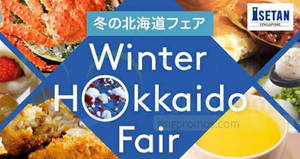 Isetan Winter Hokkaido Fair at Shaw House from 26 Jan – 5 Feb 2018