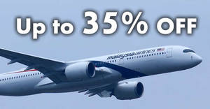 Malaysia Airlines: Up to 35% off fares New Year deals fr $126 all-in return! Book by 31 Jan 2018