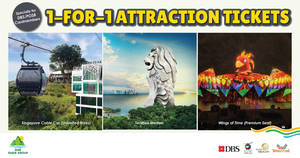 One Faber Group: 1-FOR-1 Must-Visit Sentosa Attractions for DBS/ POSB Cardmembers! From 1 Jan – 31 Mar 2018