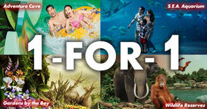 POSB: 1-FOR-1 tickets to SEA Aquarium, Cathay Cineplexes, Zoo, Bird Park & more on 10 Sep 2018
