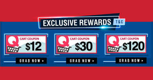Qoo10: Super Sale is back – grab $12, $30 & $120 cart coupons! Valid from 23 – 25 Mar 2018