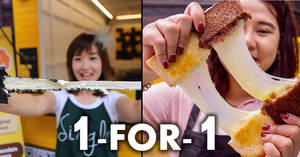 SayChiizu: 1-FOR-1 stretchable Hokkaido Cheese Toast promotion at various outlets from 16 – 18 Jan 2018