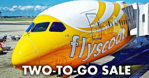 Scoot ONE-DAY two-to-go sale! Fly fr $52 all-in to over 60 destinations when you book on 11 June 2019