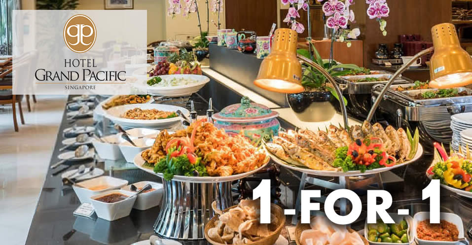 Sun S Cafe Hotel Grand Pacific Singapore 1 For 1 Lunch Dinner