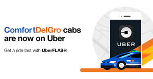 Uber: $3 to $5 OFF UberFLASH rides promo code valid from 19 Jan – 10 Feb 2018