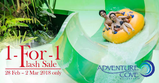 Adventure Cove Waterpark 27 Feb 2018