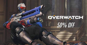 Blizzard's Overwatch is going at 50% OFF! Ends 26 Feb 2018