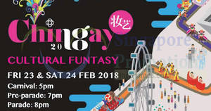 Chingay Parade 2018 at F1 Pit Building from 23 – 24 Feb 2018