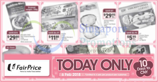 Fairprice ONEday only feat 6 Feb 2018
