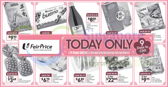 Fairprice ONEday only feat 7 Feb 2018