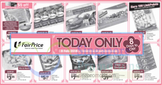Fairprice ONEday only feat 8 Feb 2018