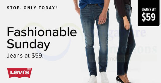 Levis Official Estore feat 4 Feb 2018