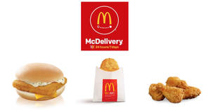 McDonald's McDelivery: Get free McWings, Filet-O-Fish & more with these coupon codes! Valid till 28 Feb 2018