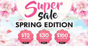 Qoo10: Super Sale is back featuring $12, $30 & $100 cart coupons! Valid till 25 Feb 2018