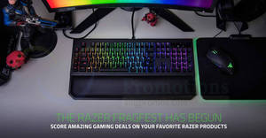Razer 24hr FragFest: Score deals up to 50% OFF! Ends 21 Mar 2018, 3pm