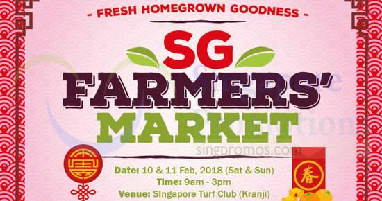 SG Farmers Market feat 6 Feb 2018