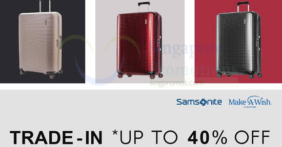 Samsonite feat 9 Feb 2018