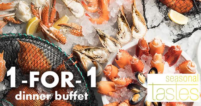 Seasonal Tastes at Westin Singapore: 1-FOR-1 dinner buffet ...