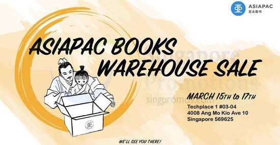 Asiapac Books feat 5 Mar 2018